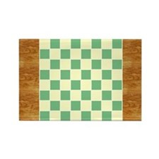 CheckerBoard-PlaceMat Rectangle Magnet