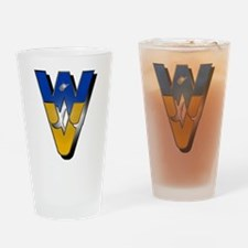 WV State Drinking Glass