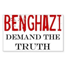 Benghazi Truth large Decal