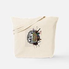 Left & Right brain Tote Bag