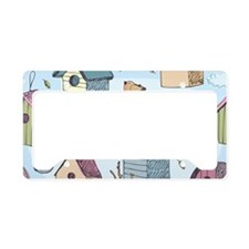 Cute Birdhouses License Plate Holder