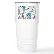 Cute Birdhouses Travel Mug
