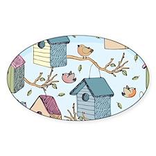 Cute Birdhouses Decal