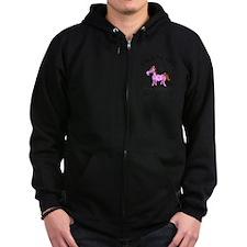 horseA55light Zip Hoodie