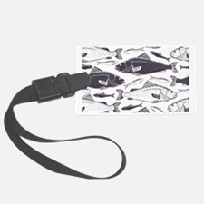 Fish Pattern Luggage Tag