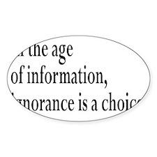 informationrectangle Decal