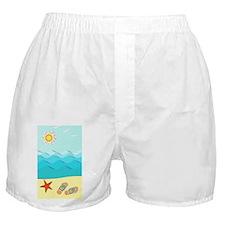 Fun Beach Boxer Shorts