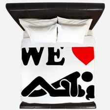We Love Sex King Duvet