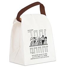 Juror Sells 11 Magazine Subscript Canvas Lunch Bag