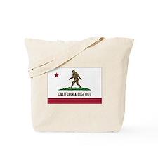 California Bigfoot Tote Bag