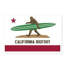 California Bigfoot... Postcards (Package of 8)