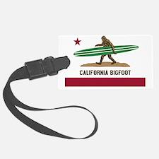 California Bigfoot... Luggage Tag
