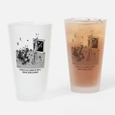 The Three Zs Drinking Glass