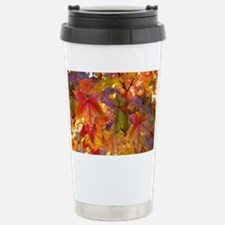 Autumn Leaves 97M Red C Stainless Steel Travel Mug