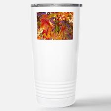 Autumn Leaves 97M Red C Travel Mug