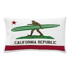 California Republic Bigfoot Pillow Case