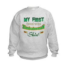 Zimbabwean baby design Sweatshirt