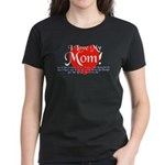 I Love Mom! Women's Dark T-Shirt