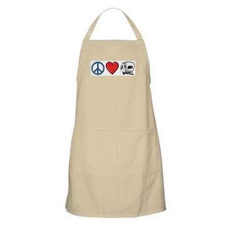 Peace Love & Camping Apron