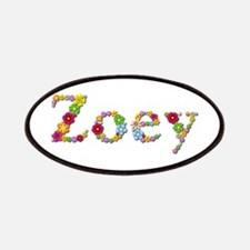 Zoey Bright Flowers Patch