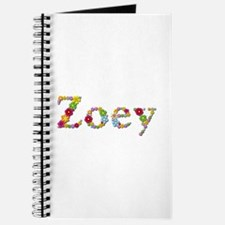Zoey Bright Flowers Journal