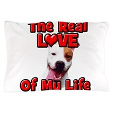RealLoveOfMyLife Pitbull Pillow Case