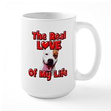 RealLoveOfMyLife Pitbull Mugs