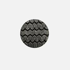 Tire Tracks Mini Button