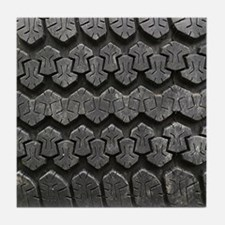 Tire Tracks Tile Coaster