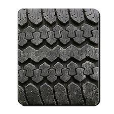 Tire Tracks Mousepad