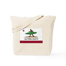 California Squatch Tote Bag