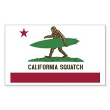 California Squatch Decal