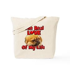 RealLoveOfMyLife Pekingnese Tote Bag