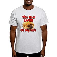 RealLoveOfMyLife Pekingnese T-Shirt