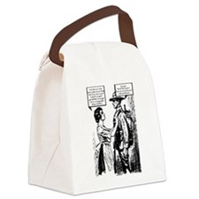 Evolution of English Canvas Lunch Bag