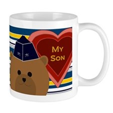 Air Force Officer Son Valentine Mugs