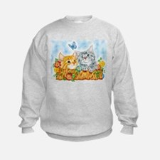 """Watching kittens"" Sweatshirt"