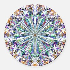 Mandala Spirit Png Round Car Magnet