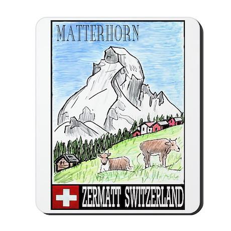 The Matterhorn Shop Mousepad