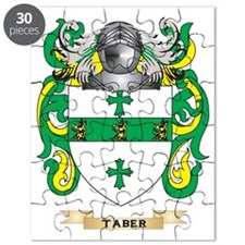 Taber Family Crest (Coat of Arms) Puzzle
