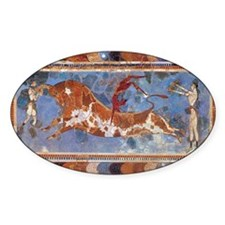 Taureau Cavaliers à Knossos Decal