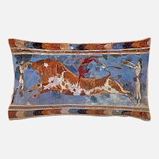 Taureau Cavaliers à Knossos Pillow Case