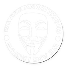 Anonymous 99% Occupy t-shirt Round Car Magnet