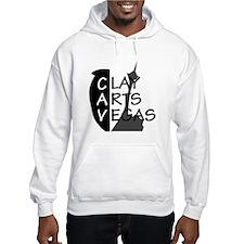 Clay Arts Vegas Logo Hoodie