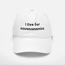 microeconomics teacher Baseball Baseball Cap