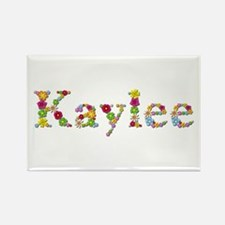 Kaylee Bright Flowers Rectangle Magnet