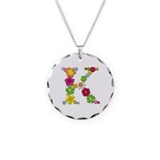 K Bright Flowers Necklace