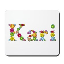 Kari Bright Flowers Mousepad