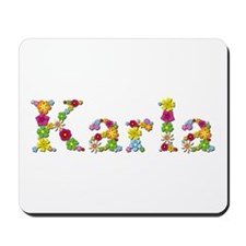 Karla Bright Flowers Mousepad