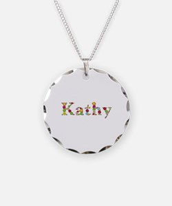 Kathy Bright Flowers Necklace